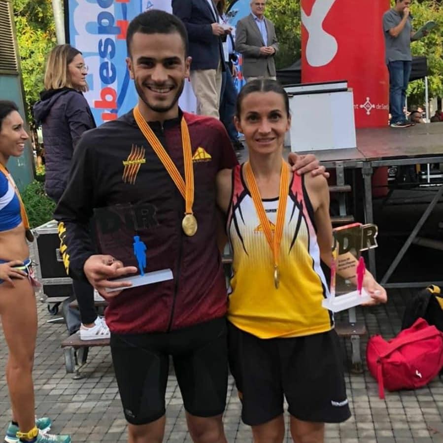 Mourad Mounim i Míriam Ortiz
